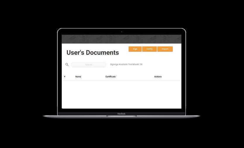 Document Management Software Using Blockchain Verification | About Us